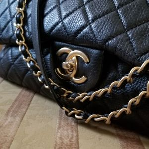 Chanel XXL Airline Classic Flap Bag 100% Authentic